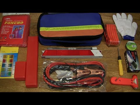 Aootek Car Breakdown Emergency Tool Kit