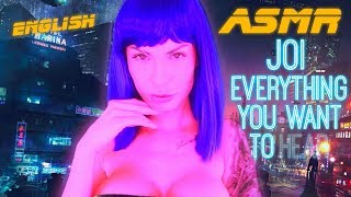 ASMR JOI I just want to be real for you  english Whispering sensitive Hand movements & face touch
