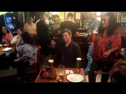 Amazing karoke at The Clifton Pub with Ladya