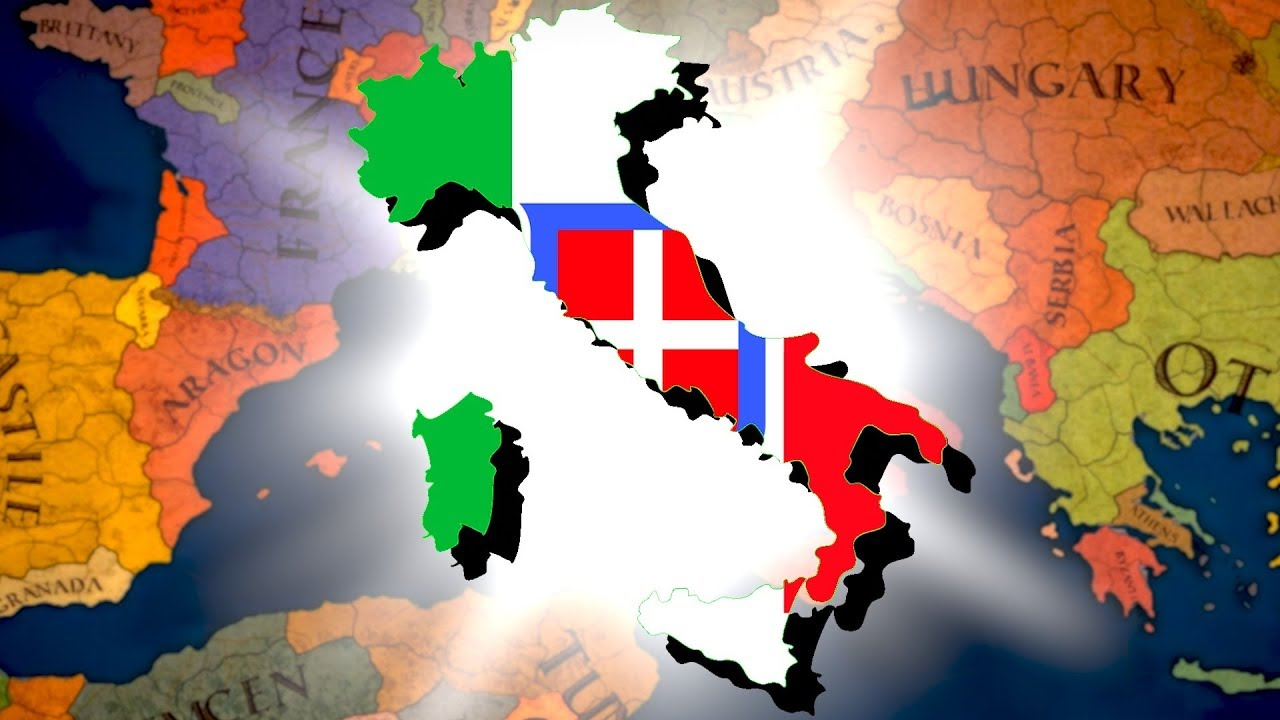 What if Italy Formed 500 Years Early?