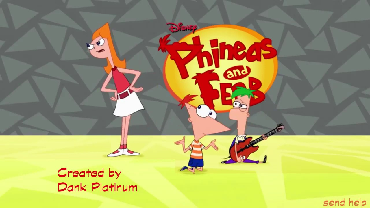 Phineas and Ferb but with Jojo's