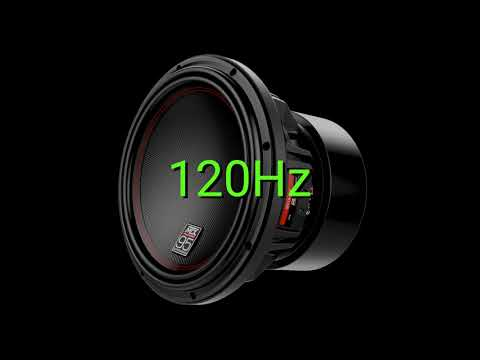 Tone frequency 120Hz. Test your hearing! speakers/headphones/subwoofer
