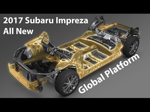 Roy Robinson Subaru >> 2017 Impreza / Subaru Global Platform - The Foundation For The Future - YouTube