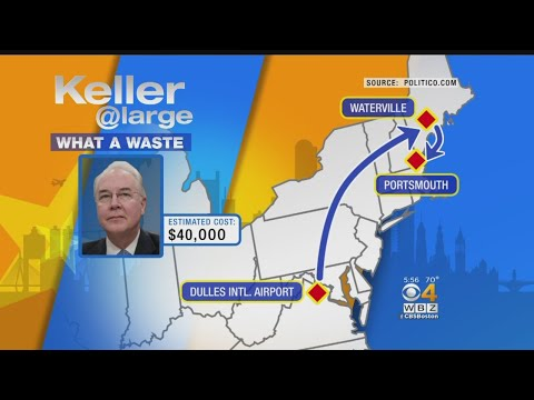 What A Waste: Tom Price's Private Jet Trips