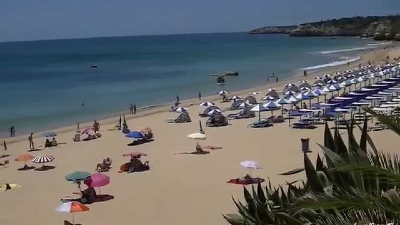 Armação de Pera Algarve Portugal (HD) - YouTube
