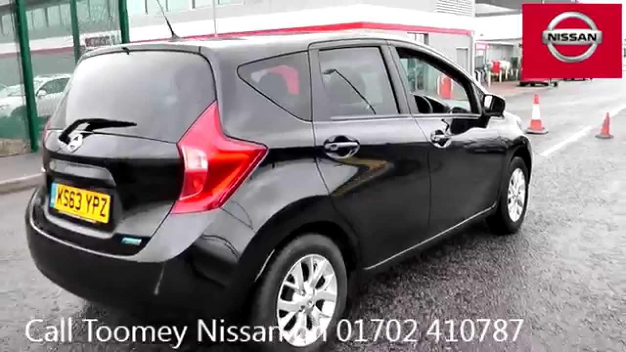 2014 Nissan Note Acenta Premium 12l Black Metallic