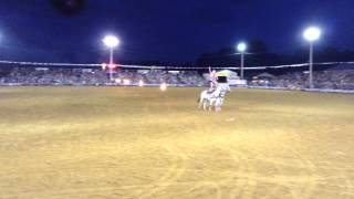 Roman Riding at the Spooner Wi PRCA Rodeo, Jessica Blair