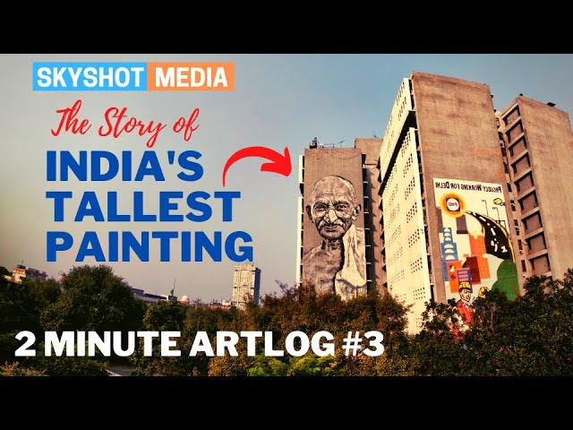 The Story of India's Tallest Painting | 2 Minute Artlog #3