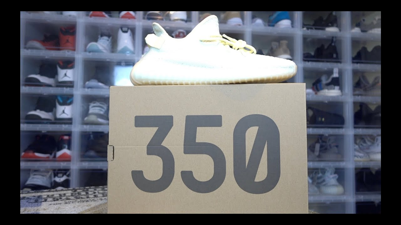 ac0f6bd95 YEEZY 350 V2 BUTTER REVIEW   POSSIBLE EXPLANATION WHY THESE SAT ON SHELVES  AND DIDN T SELL OUT. Franchise Kicks