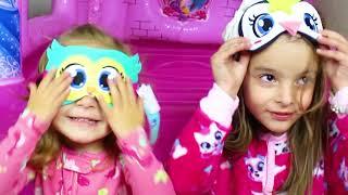PASSAMOS UMA NOITE NO PULA PULA DE PRINCESAS, spent the night trampoline princess CLUBINHO DA LAURA