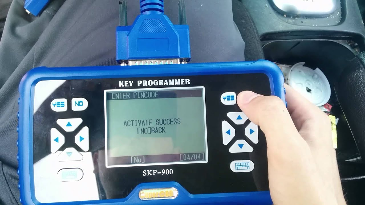 2007 2012 Nissan Altima Remote Key Programmed By Skp900