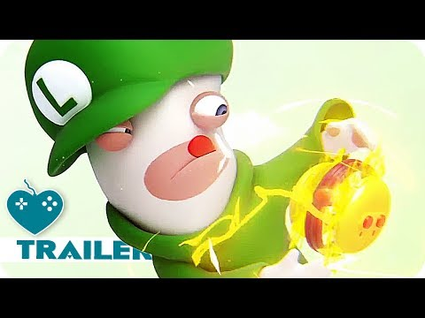 MARIO & RABBIDS: KINGDOM BATTLE Rabbid Luigi Trailer (2017) Nintendo Switch Game