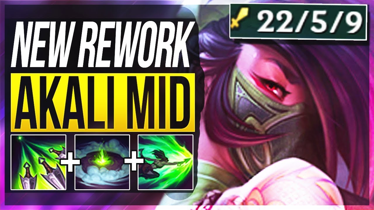 how to play akali mid
