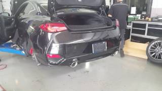 q60 rs400 infiniti performance exhaust