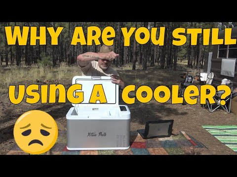 Are YOU Still Using an ICE CHEST in Your VAN?