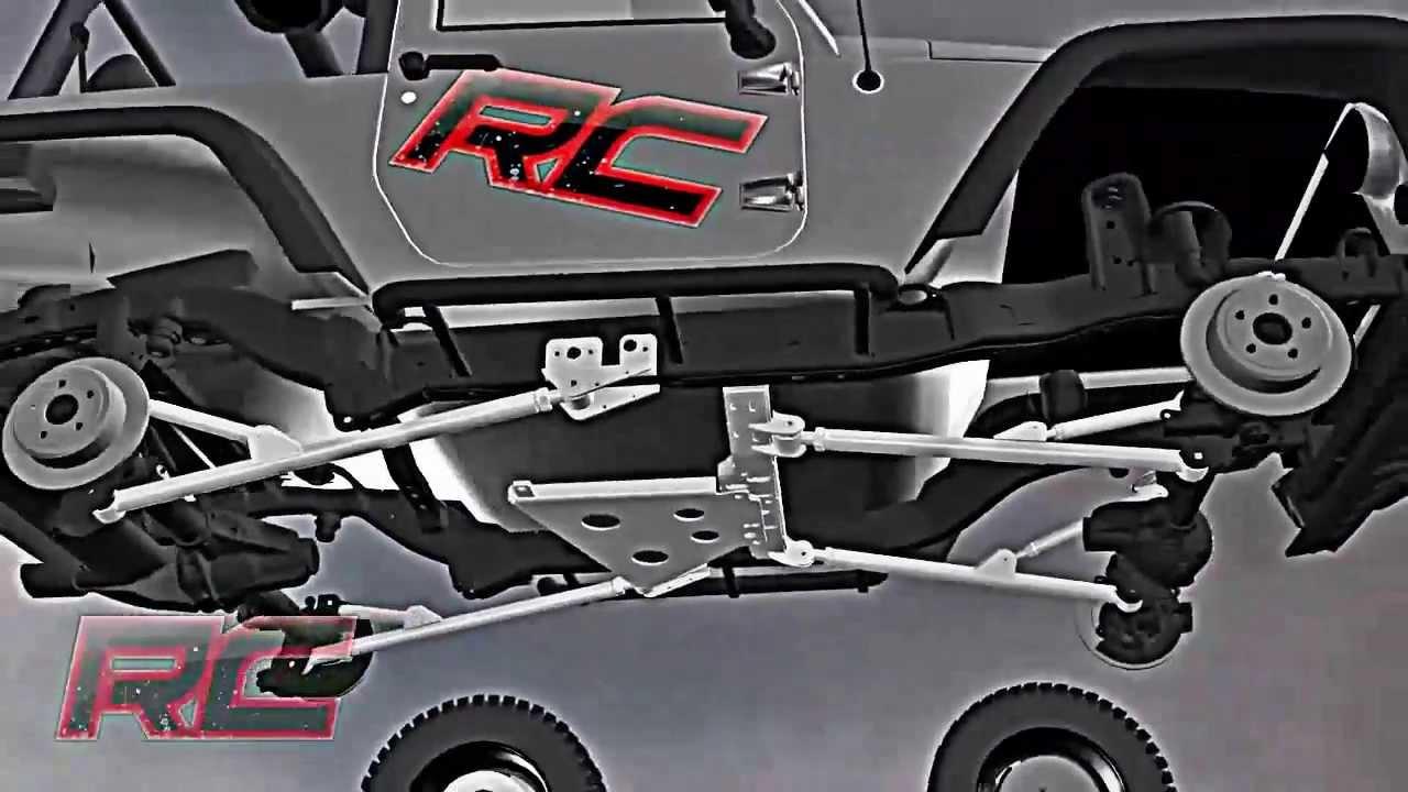 Jeep Front Suspension Diagram
