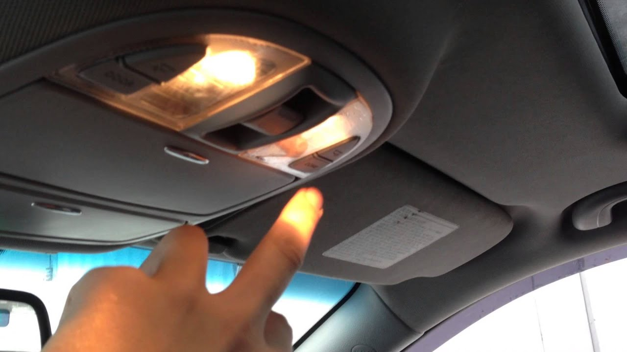 2009 Hyundai Santa Fe Interior Lights Www Indiepedia Org