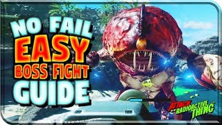 """BEAT THE BOSS FIRST TIME """"EVERY TIME!"""" Attack Of The Radioactive Thing Easter EGG (Infinite Warfare)"""