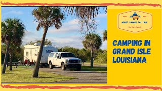 Grand isle state pąrk campground Louisiana on the road with ulcerative colitis