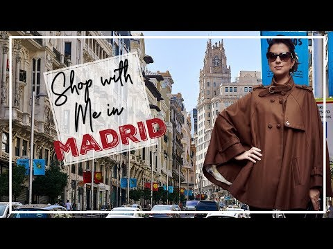 SHOPPING IN MADRID | Spain Travel Vlog | JASMINA BHARWANI