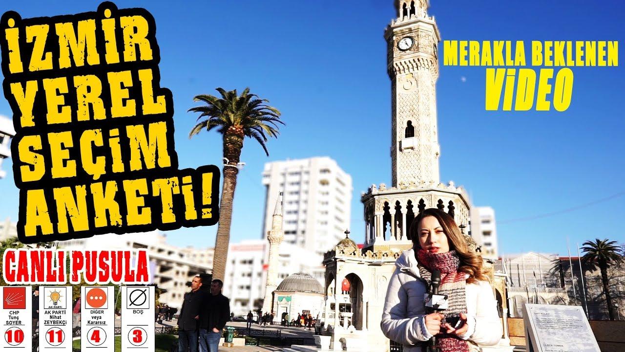 AK Parti İzmir'i Alıyor Mu? İşte İzmir Yerel Seçim Anketi