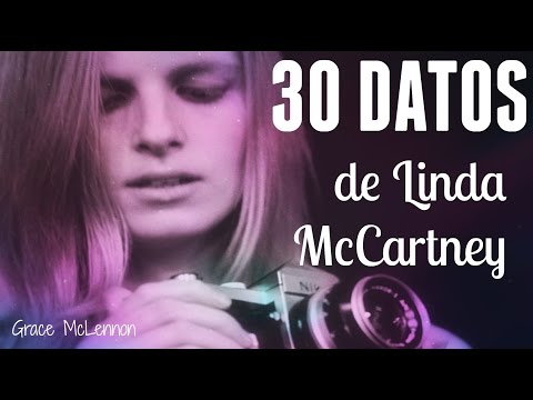 30 DATOS de Linda McCartney