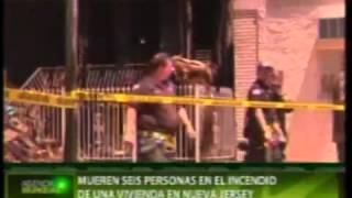 mueren seis personas en un incendio en new jersey