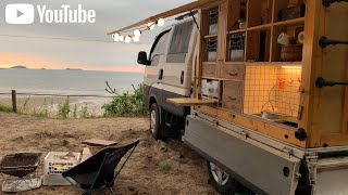 A camper built by a couple for 10 months | Camping car DIY 2. | English subtitles