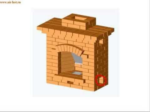 Мини-камин для дачного домика