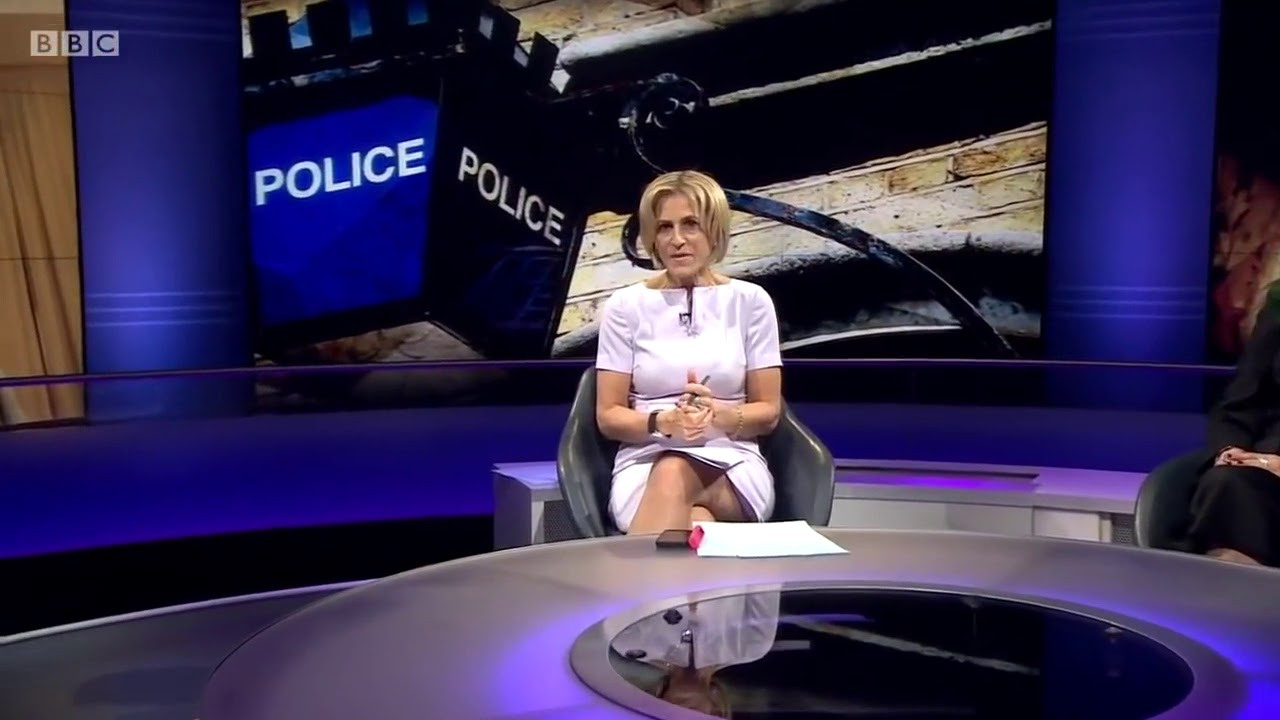 Emily Maitlis | Is This Mini Dress Too Short For TV ...