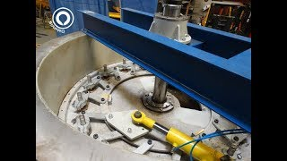 Kaplan Turbine 300 kW fabrication - Testing in Siapro Workshop
