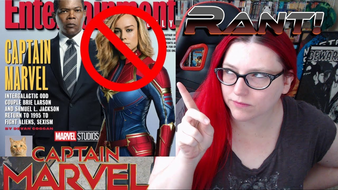 CAPTAIN MARVEL IS NOT A STRONG FEMALE ROLE MODEL!