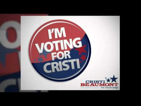 Vote Cristi Beaumont for Circuit Court Judge