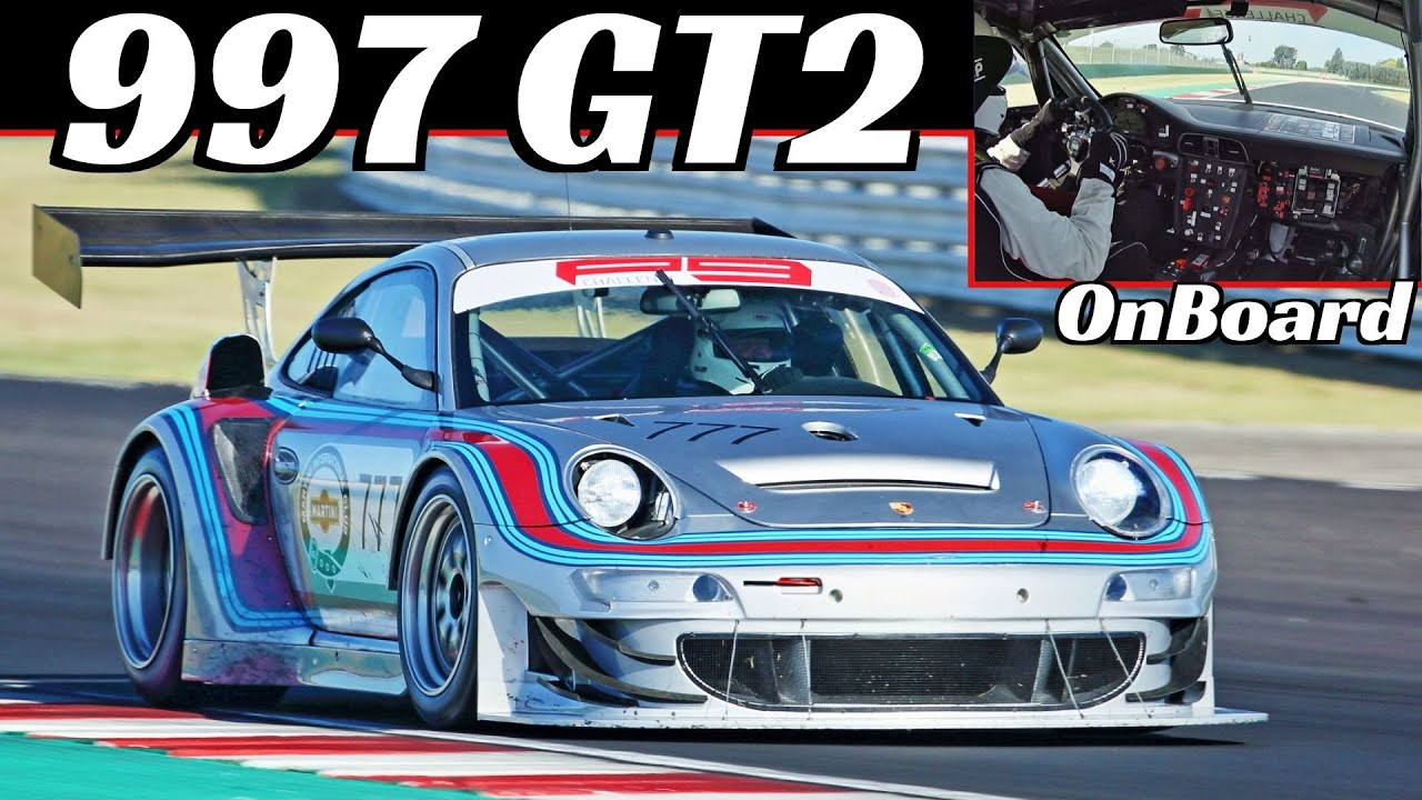 Porsche 997 GT2 Turbo RSR WideBody - EPIC Turbo Whistle & Blow Off Valve Sound, Onboard Misano