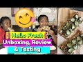 HELLO FRESH UNBOXING, REVIEW AND TASTING 2017