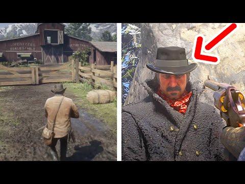O que acontece se você NÃO OBEDECER O JOGO? (Red Dead Redemption 2)  