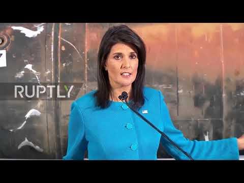 USA: Haley presents 'undeniable' evidence of Iran violating UN Resolutions