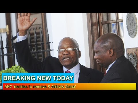Breaking News - ANC 'decides to remove S Africa's Zuma'