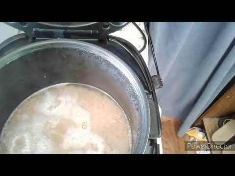 Каша пшеничка на воде в мультиварке