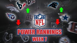 NFL Week 7 Power Rankings | Cowboys Are A Laughing Stock, How Does Dan Quinn Still Have A Job?