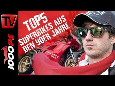 Top 5 - Superbikes aus den 90er Jahren