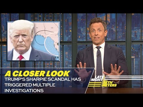 Trump's Sharpie Scandal Has Triggered Multiple Investigations: A Closer Look