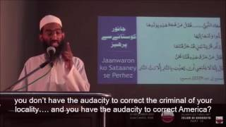 A powerful message and advice on  the Fitnah of ISIS/Daesh - By Shaykh Abu Zaid Zameer