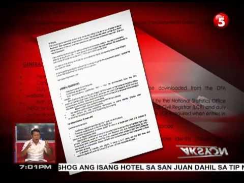 EXCLUSIVE News5E |  Aldrich Lloyd Talonding shows Ellen show letter