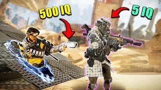 *5 IQ* vs. *500 IQ* - NEW Apex Legends Funny Epic Moments #60