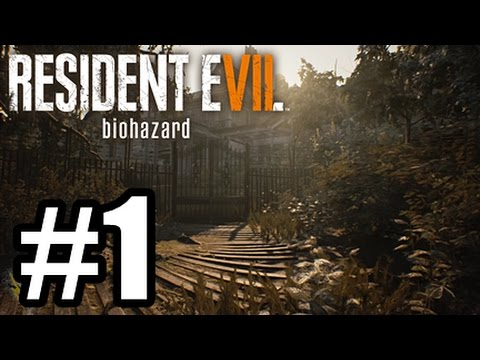 Resident Evil 7 Playthrough PS4 #1 - Zombies!?