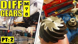 THE MOST COMPREHENSIVE DIFF GEAR INSTALL | VR V6 TURBO COMMODORE - M78 | PART 2