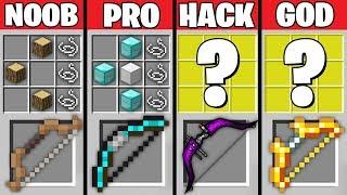 Minecraft Battle: NOOB vs PRO vs HACKER vs GOD : S...