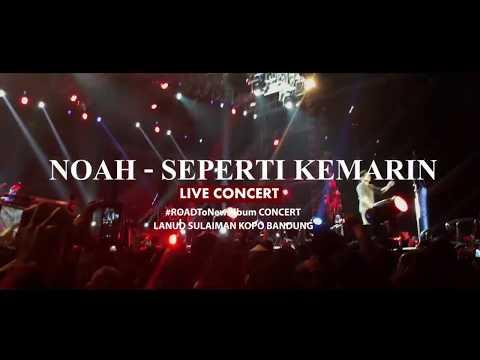PENONTON HEBOH!!! NOAH bawain SEPERTI KEMARIN di LANUD SULAIMAN BANDUNG 2017