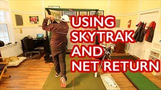 Using Skytrak and Net Return Together Indoors